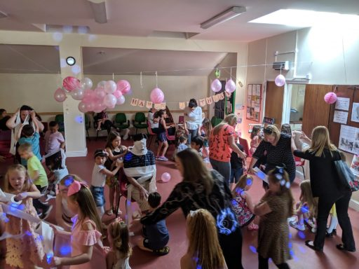 Fun and games at a kids party - © JP Discos Watford